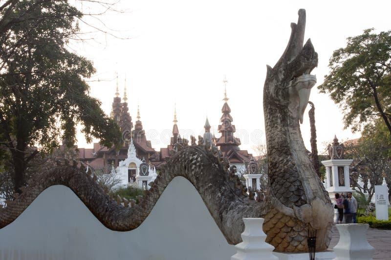 MAI DI CHAIANG, TAILANDIA - 26 GENNAIO 2014: La località di soggiorno di lusso: M. fotografia stock libera da diritti