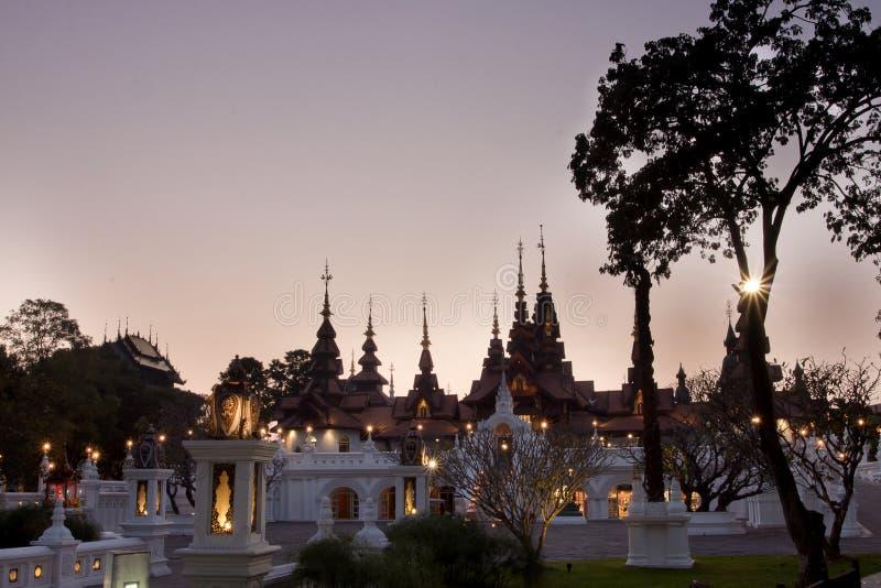 MAI DI CHAIANG, TAILANDIA - 26 GENNAIO 2014: La località di soggiorno di lusso: M. fotografia stock