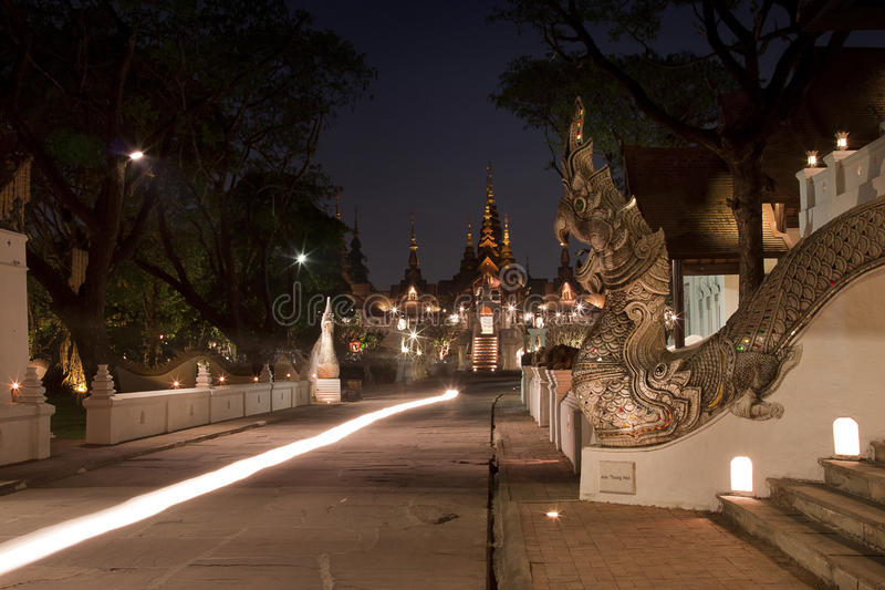 MAI DI CHAIANG, TAILANDIA - 8 MARZO 2014: La località di soggiorno di lusso, Manda fotografia stock libera da diritti