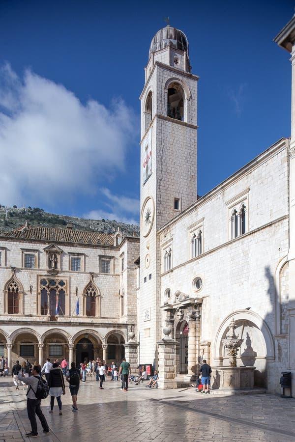 4. Mai 2019 Dubrovnik, Kroatien Alte Stadtarchitektur lizenzfreies stockbild