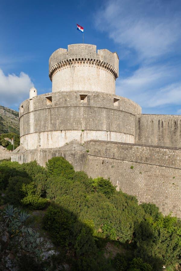 3. Mai 2019 Dubrovnik, Kroatien Alte Stadtarchitektur stockbilder