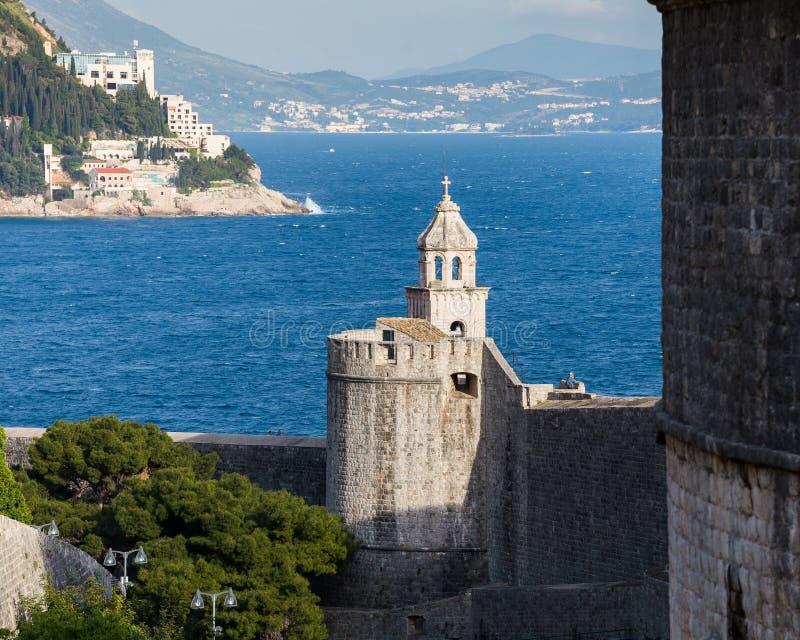 3. Mai 2019 Dubrovnik, Kroatien Alte Stadtarchitektur stockfotografie