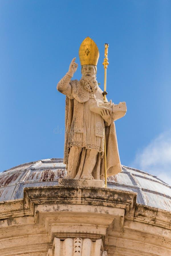 5. Mai 2019 Dubrovnik, Kroatien Kirche St. Blaise stockfotos