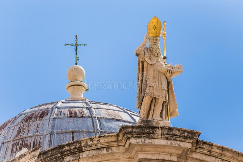 5. Mai 2019 Dubrovnik, Kroatien Kirche St. Blaise lizenzfreie stockbilder