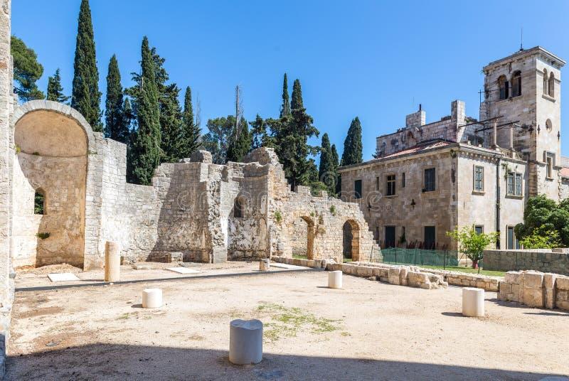 5. Mai 2019 Dubrovnik, Kroatien Locrum-Insel lizenzfreies stockbild