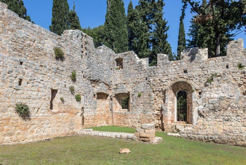 5. Mai 2019 Dubrovnik, Kroatien Locrum-Insel lizenzfreies stockfoto