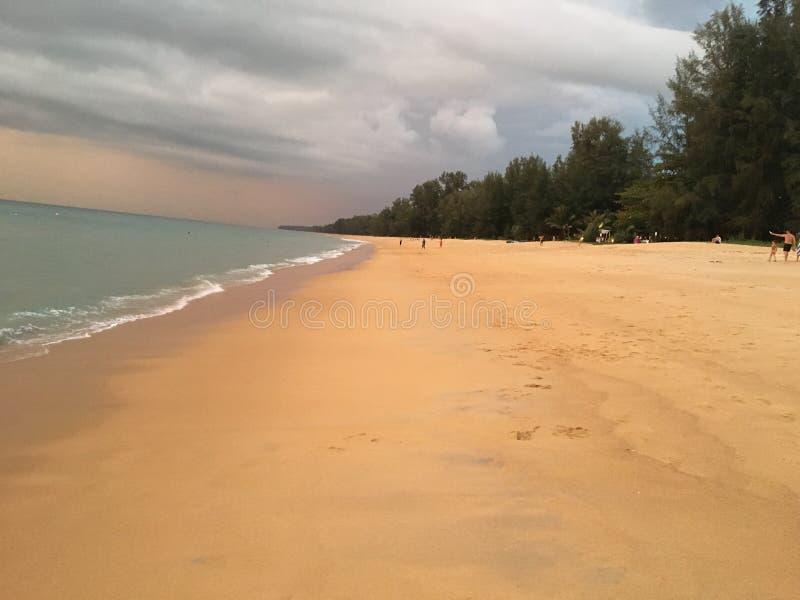 Mai Khao Beach Phuket fotografia stock libera da diritti