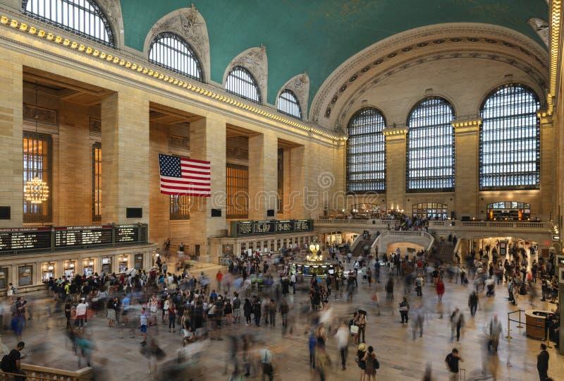 26. Mai 2018 - New York, Vereinigte Staaten: Innenraum des Grand Central Station, New York City, Vereinigte Staaten lizenzfreie stockfotografie
