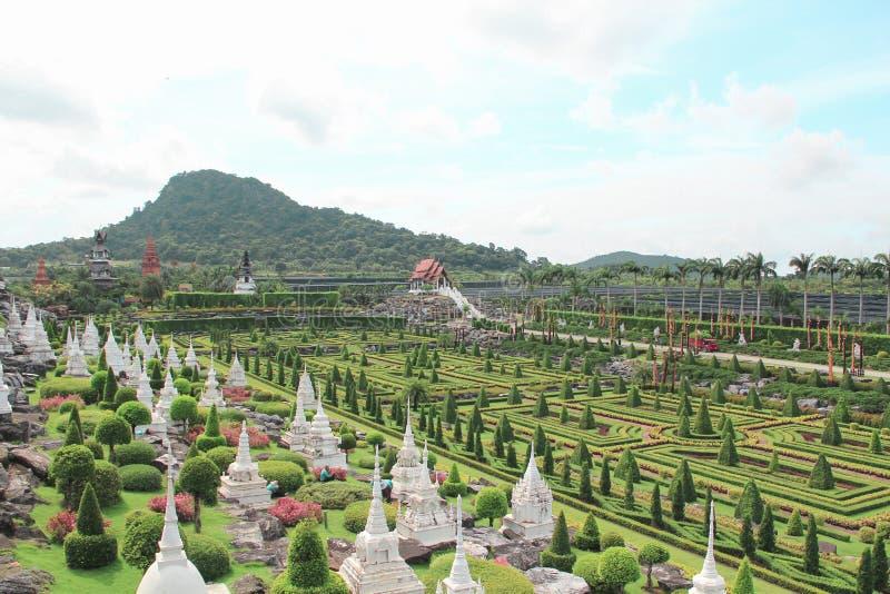 6 mai 2011, parc tropical Nong Nooch, beau jardin de botanique de la Thaïlande Pattaya photo libre de droits