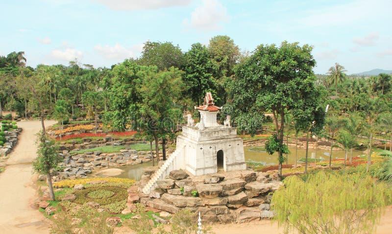 6 mai 2011, parc tropical Nong Nooch, beau jardin de la Thaïlande Pattaya photographie stock libre de droits