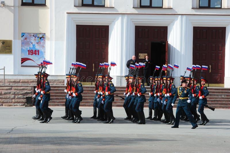 9 mai 2018 Tyumen photos stock