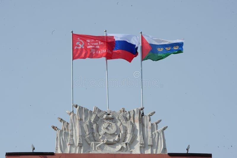 9 mai 2018 Tyumen photos libres de droits