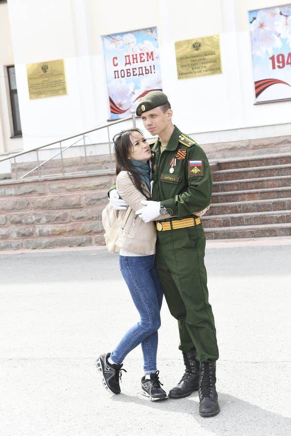 9 mai 2018 Tyumen photo libre de droits