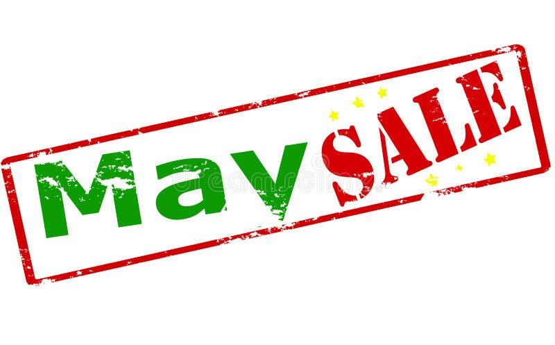 Mai-Verkauf lizenzfreie abbildung