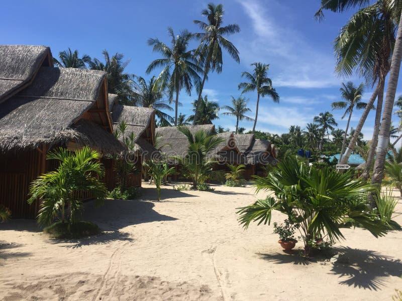 Maia Beach en la isla Filipinas de Bantayan fotos de archivo libres de regalías