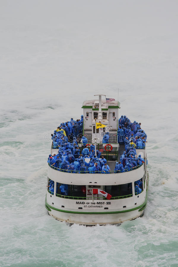 Maid of the mist stock photography