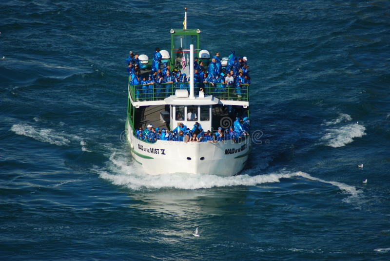 Maid of the Mist - Niagara Falls royalty free stock images