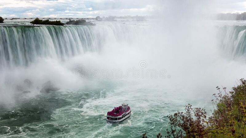 Maid of the Mist, Niagara Falls, Ontario stock photography