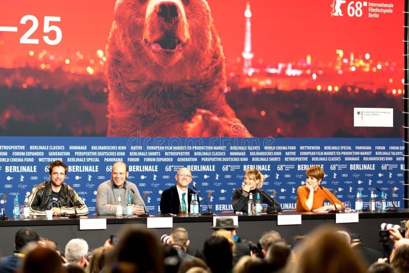 ` Maid ` Pressekonferenz während des 68. Berlinale-Film-Festivals stockbilder