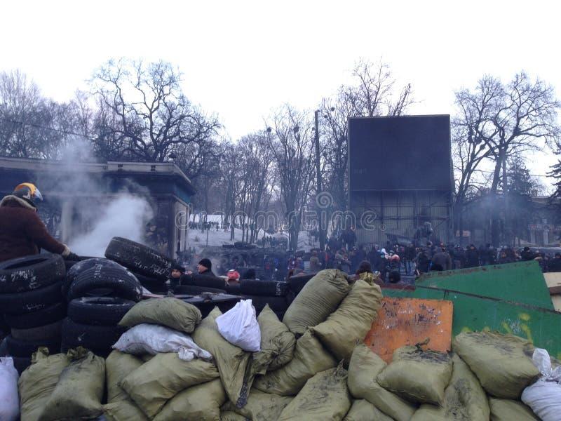 Maidan royalty-vrije stock afbeeldingen