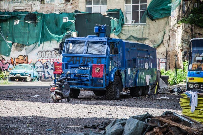 Maidan Nezalezhnosti in Kiev royalty free stock image