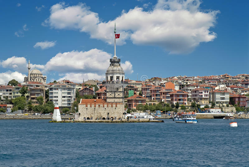 Download The Maiden's Tower Royalty Free Stock Image - Image: 15112926