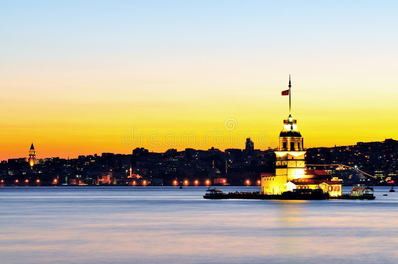 Download The Maiden's Tower stock image. Image of sign, fashioned - 8291579