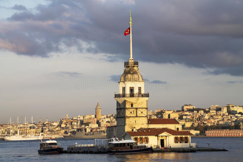 Maiden's Tower royalty free stock photography