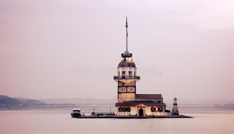 Maiden Tower royalty free stock photo