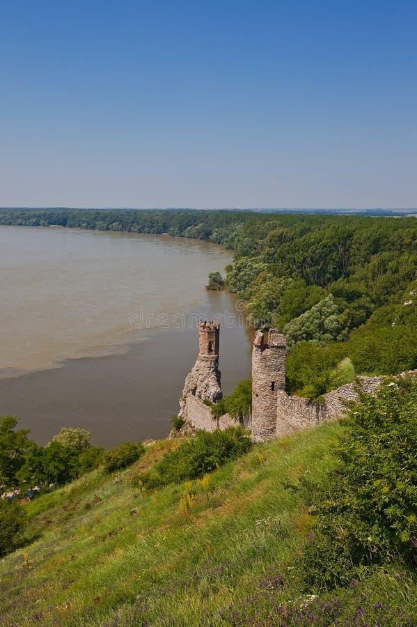 Download Maiden Tower Of Devin Castle. Bratislava, Slovakia Stock Image - Image: 32419947