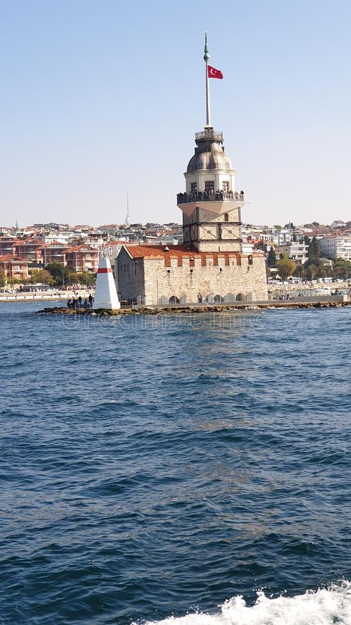 Maiden Tower stock photography