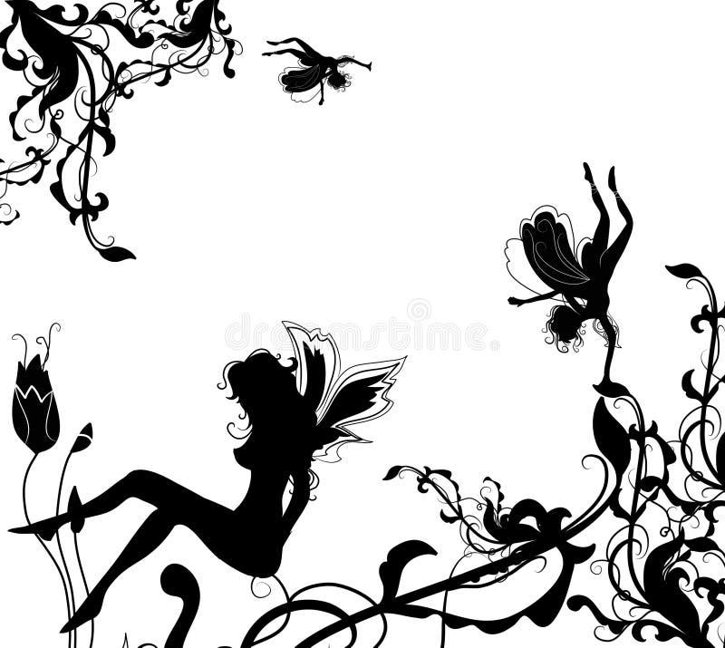 maigal ögonblick stock illustrationer
