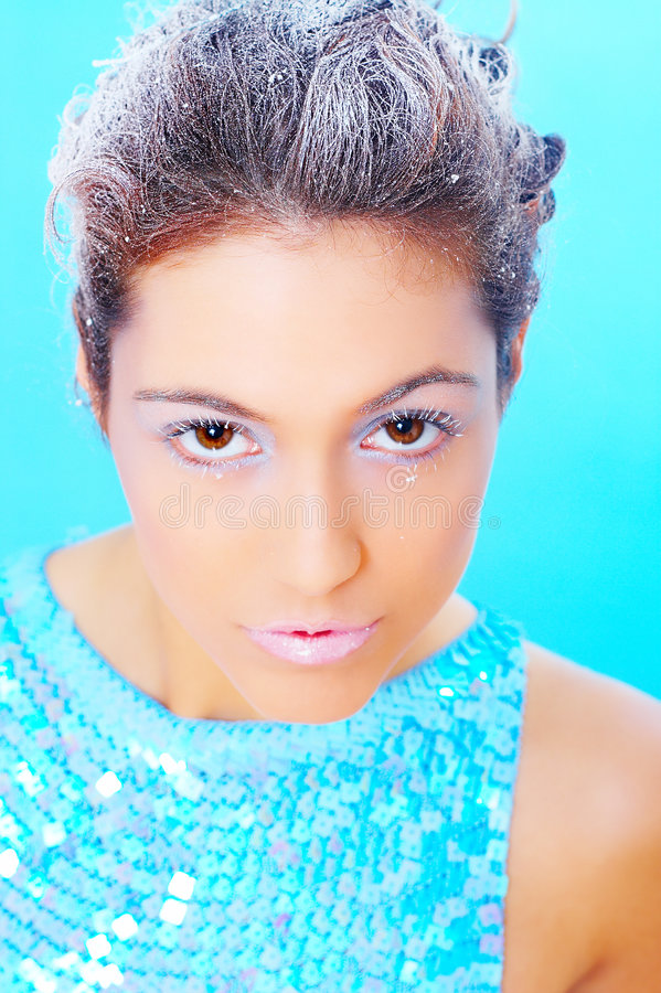Maike. ColorFull photographie stock