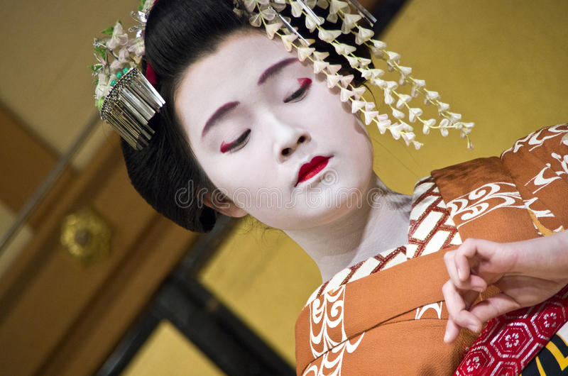 Maiko Geisha, Kyoto imagem de stock royalty free