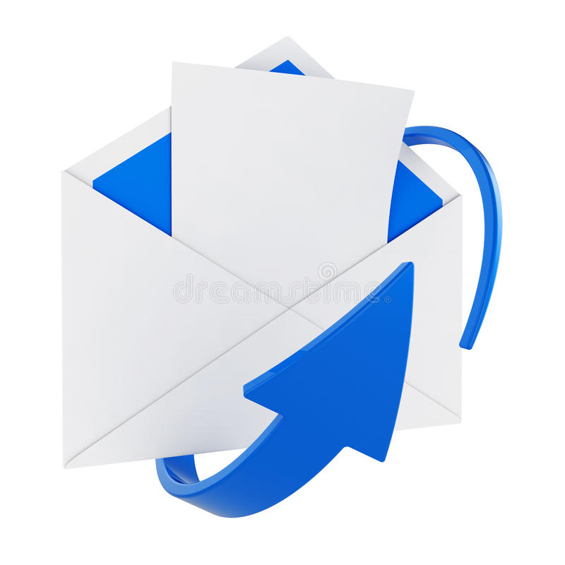 Download Mail stock illustration. Image of arrow, communication - 25543987