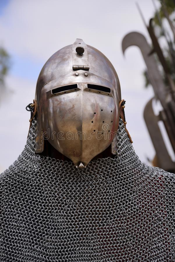 Chain mail stock photography