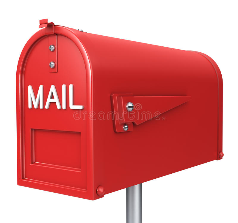 Download Mail box stock illustration. Image of postage, paper - 25099760