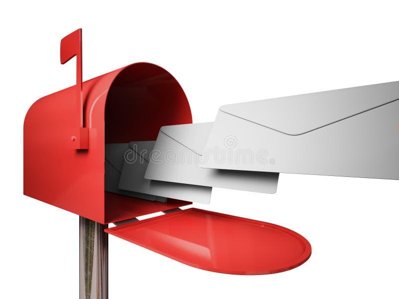 Mail box vector illustration