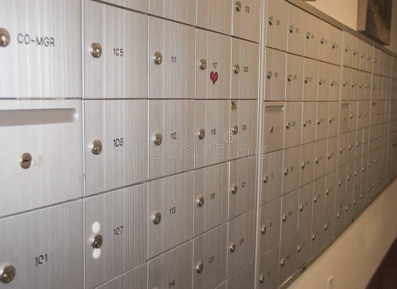 Download Mail Boxes stock photo. Image of postal, metal, locked - 150052