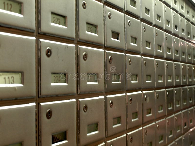 Mail Boxes royalty free stock photo