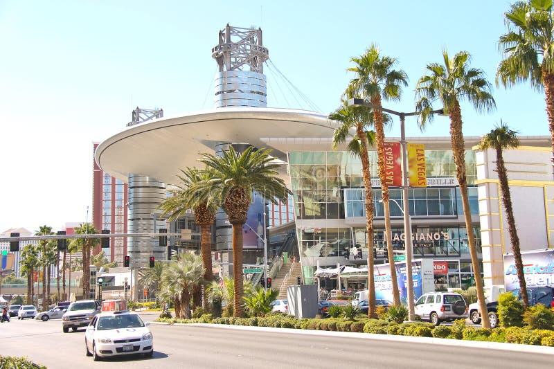 Mail de défilé de mode à Las Vegas, Nevada. image libre de droits