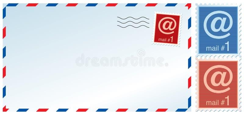 Mail envelope stock illustration