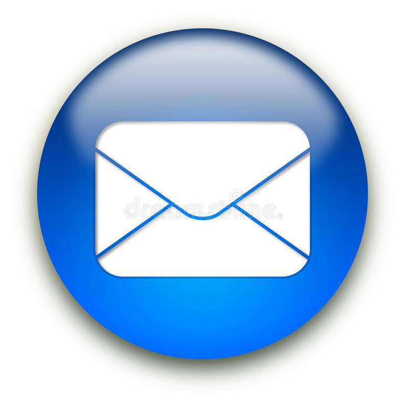 Mail envelope icon button vector illustration