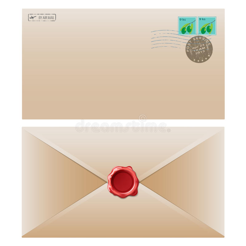 Mail Envelope Royalty Free Stock Photos
