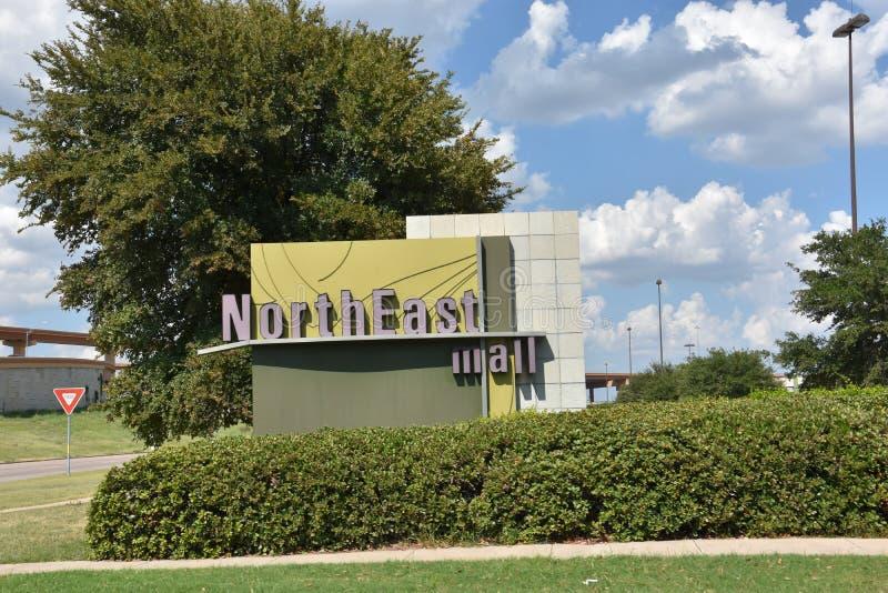 Mail est du nord dans Hurst, le Texas images libres de droits
