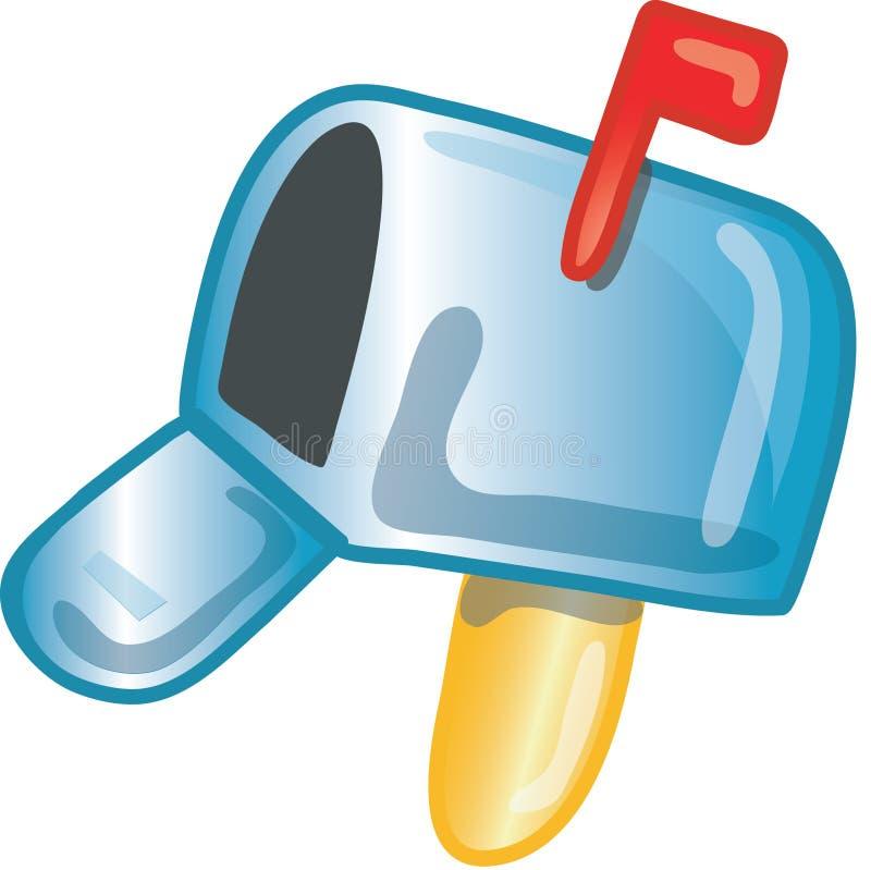 Mail icon stock illustration
