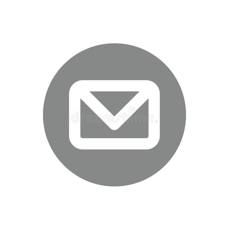 Mail icon Design. Something like Mail icon Design royalty free illustration