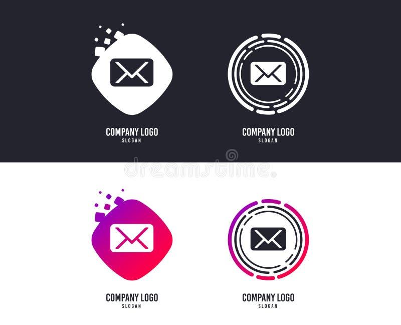 Mail icon. Envelope symbol. Message sign. Vector. Logotype concept. Mail icon. Envelope symbol. Message sign. Mail navigation button. Logo design. Colorful stock illustration