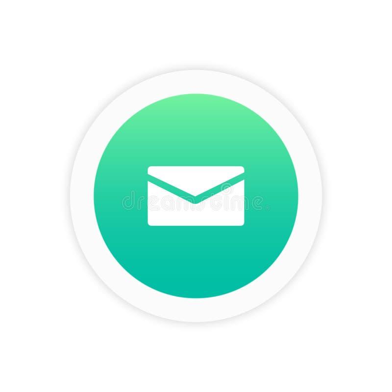 Mail icon sign. Symbol vector illustration icon stock illustration