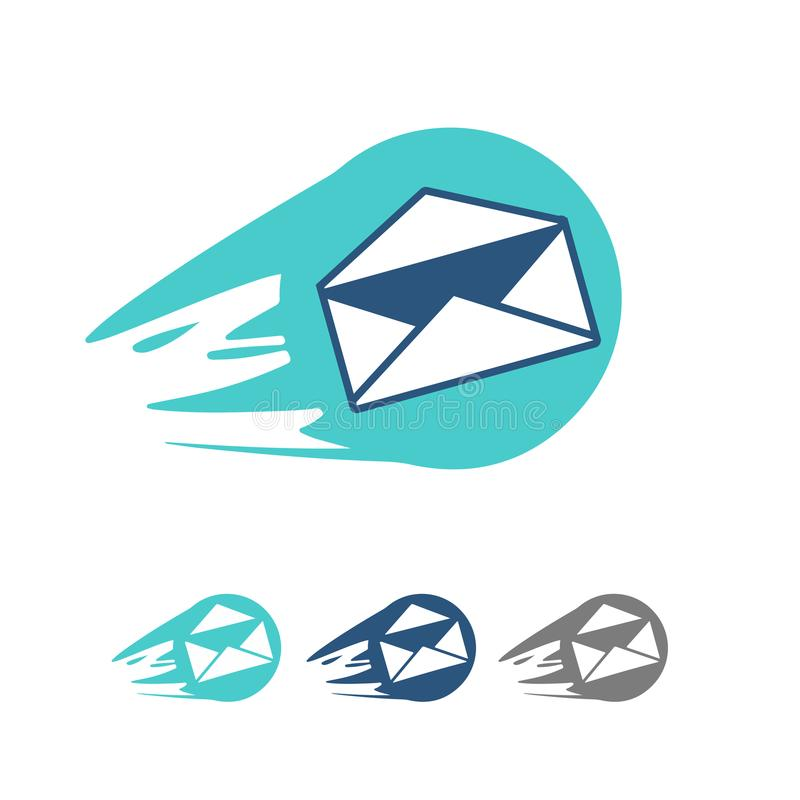 Mail icon. Vector royalty free stock images